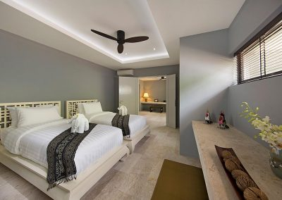 Bedroom single beds